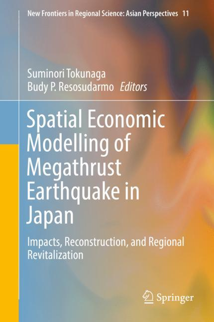 Cover of 'Spatial Economic Modelling of Megathrust Earthquake in Japan'