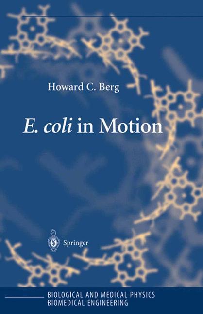 Cover of 'E. coli in Motion'
