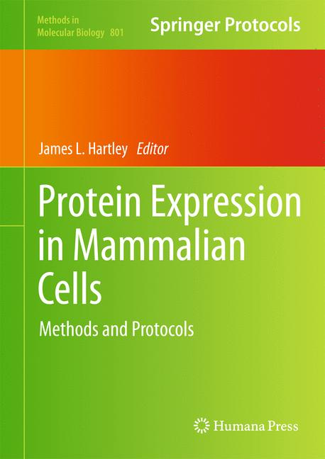 Cover of 'Protein Expression in Mammalian Cells'
