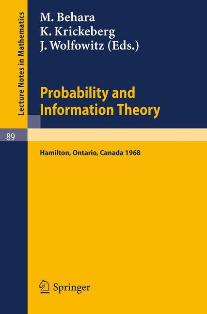 Cover of 'Probability and Information Theory'
