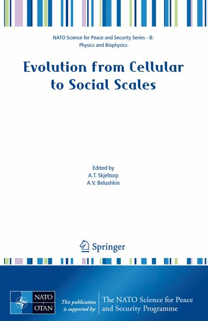 Cover of 'Evolution from Cellular to Social Scales'
