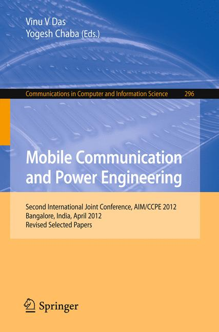 Cover of 'Mobile Communication and Power Engineering'