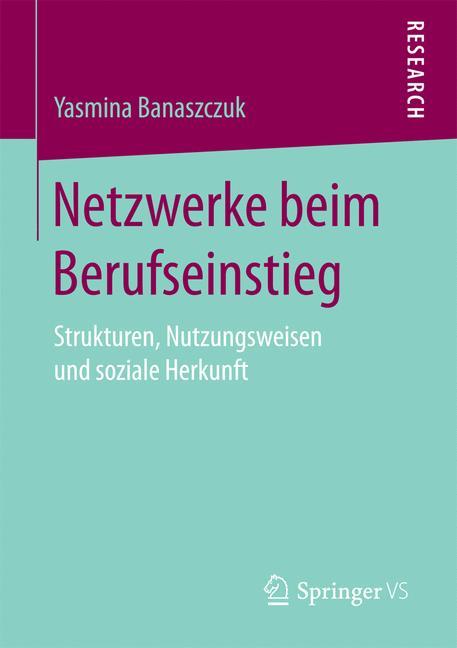 Cover of 'Netzwerke beim Berufseinstieg'
