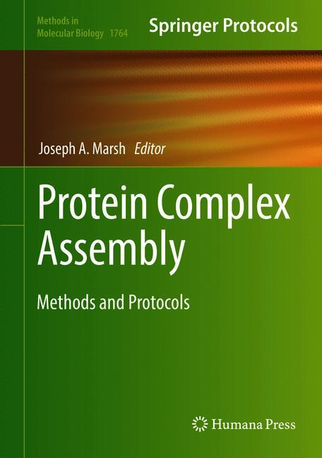 Cover of 'Protein Complex Assembly'