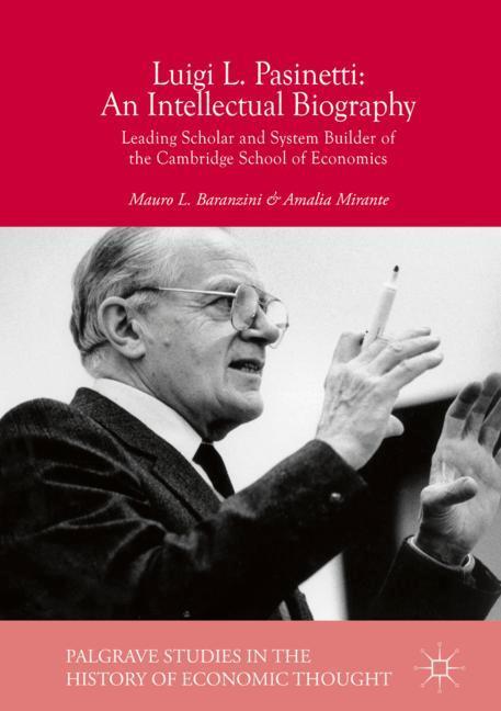 Cover of 'Luigi L. Pasinetti: An Intellectual Biography'