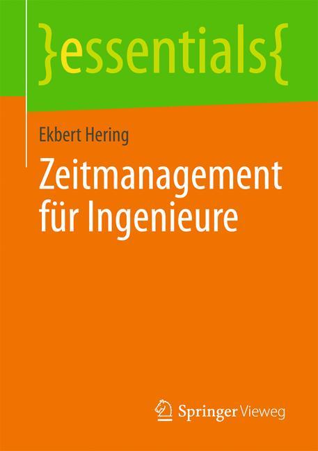 Cover of 'Zeitmanagement für Ingenieure'