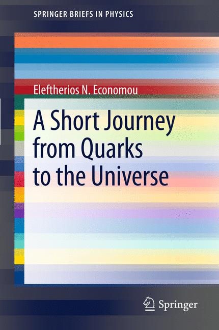 Cover of 'A Short Journey from Quarks to the Universe'