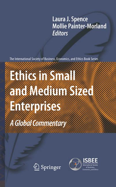 Cover of 'Ethics in Small and Medium Sized Enterprises'