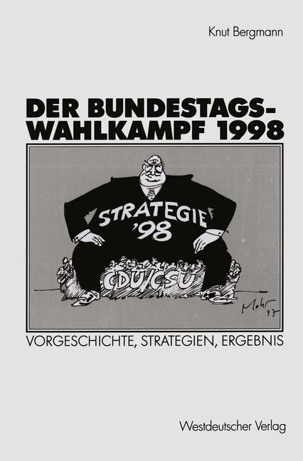 Cover of 'Der Bundestagswahlkampf 1998'