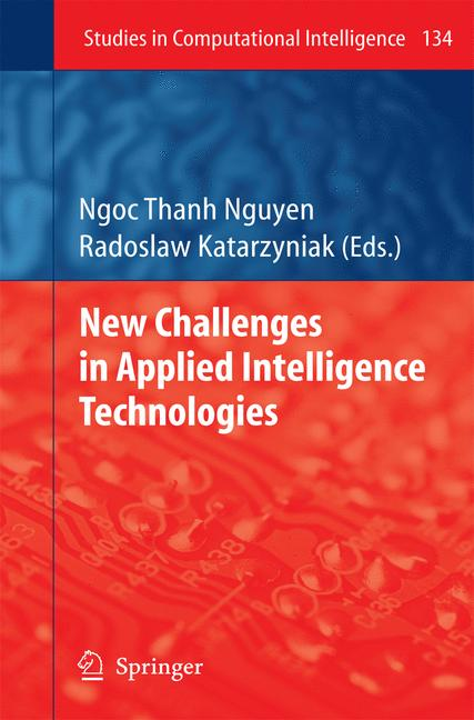 Cover of 'New Challenges in Applied Intelligence Technologies'