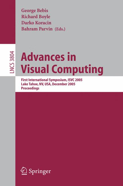 Cover of 'Advances in Visual Computing'