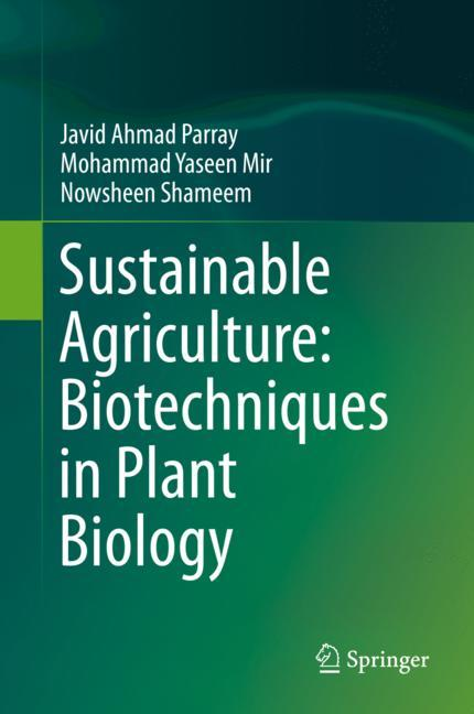 Cover of 'Sustainable Agriculture: Biotechniques in Plant Biology'