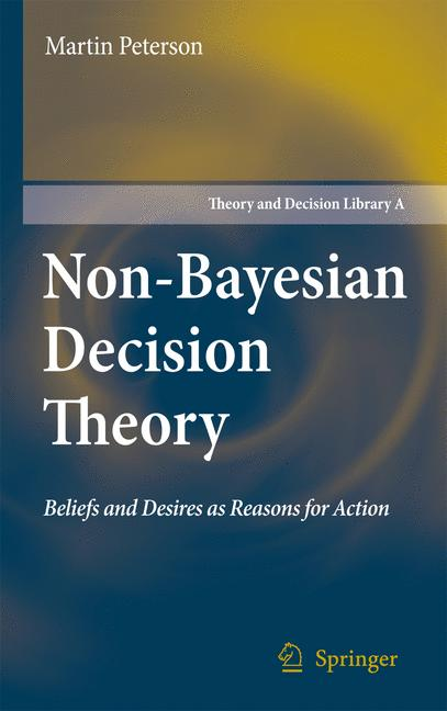 Cover of 'Nonbayesian Decision Theory'
