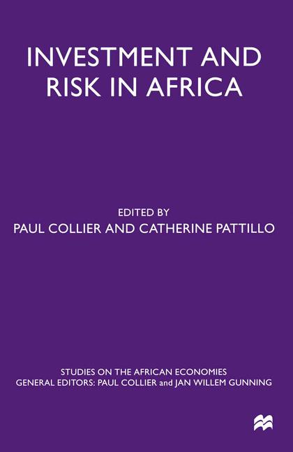 Cover of 'Investment and Risk in Africa'
