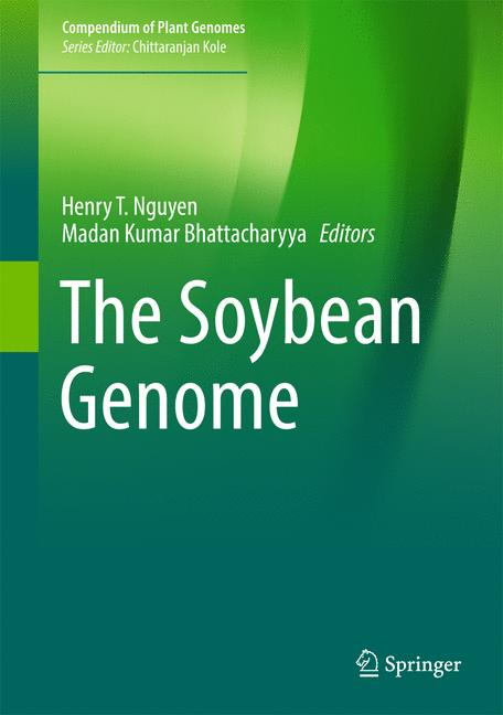 Cover of 'The Soybean Genome'