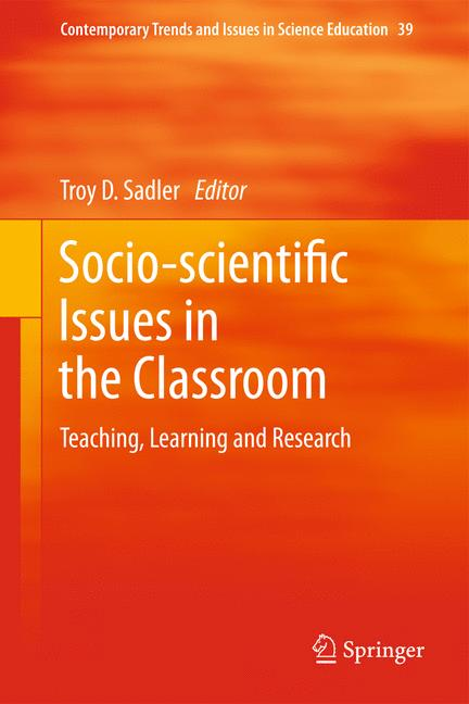 Cover of 'Socio-scientific Issues in the Classroom'