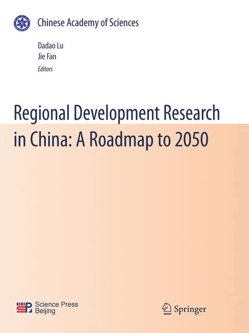Cover of 'Regional Development Research in China: A Roadmap to 2050'