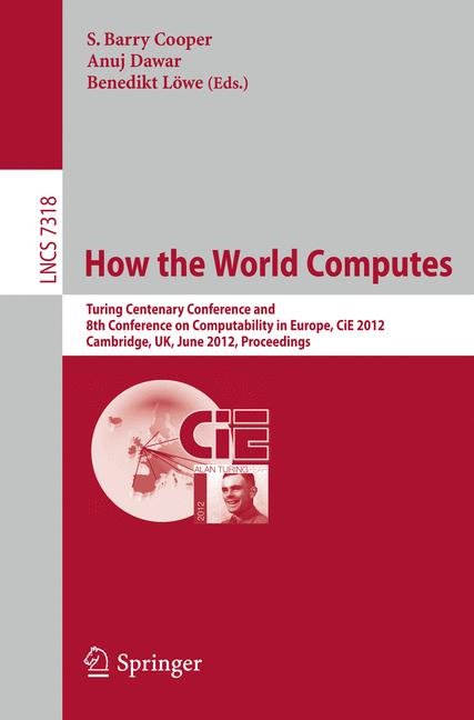 Cover of 'How the World Computes'
