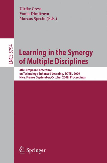 Cover of 'Learning in the Synergy of Multiple Disciplines'