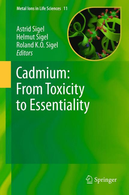 Cover of 'Cadmium: From Toxicity to Essentiality'