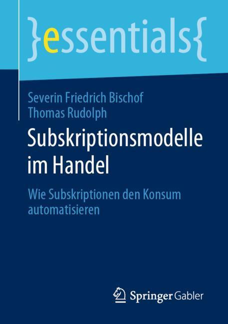 Cover of 'Subskriptionsmodelle im Handel'