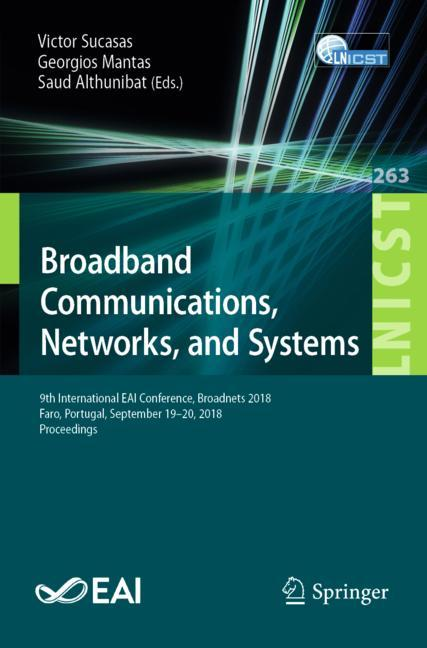 Cover of 'Broadband Communications, Networks, and Systems'