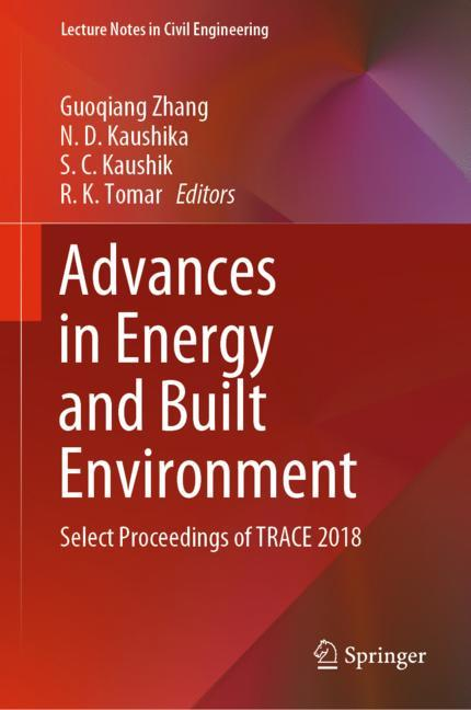 Cover of 'Advances in Energy and Built Environment'