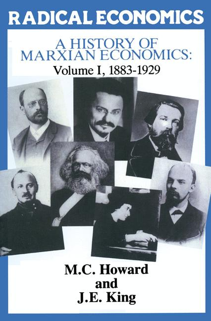 Cover of 'A history of Marxian economics'