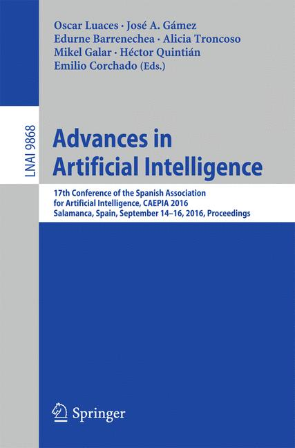 Cover of 'Advances in Artificial Intelligence'