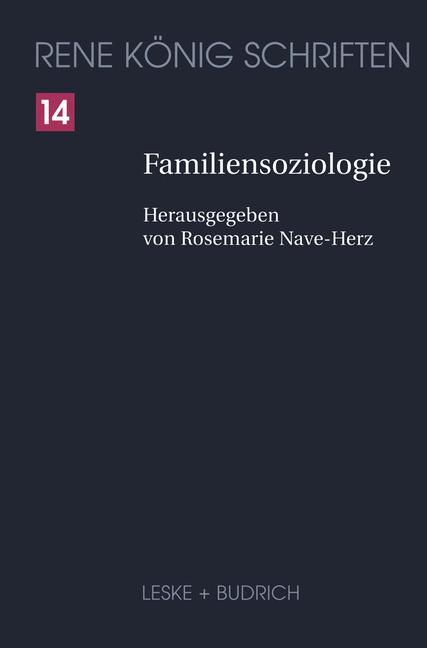 Cover of 'Familiensoziologie'