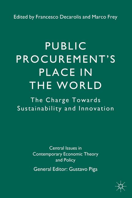 Cover of 'Public Procurement's Place in the World'