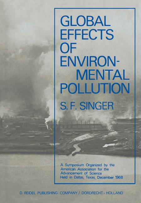 Cover of 'Global Effects of Environmental Pollution'