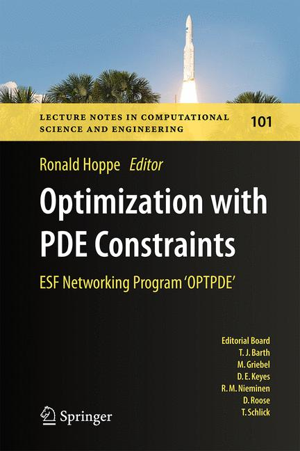 Cover of 'Optimization with PDE Constraints'