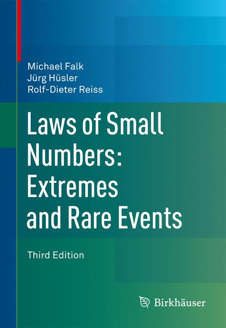 Cover of 'Laws of Small Numbers: Extremes and Rare Events'