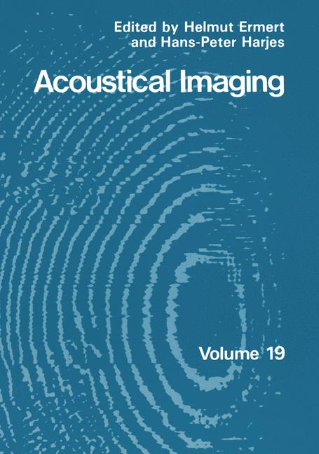 Cover of 'Acoustical Imaging'