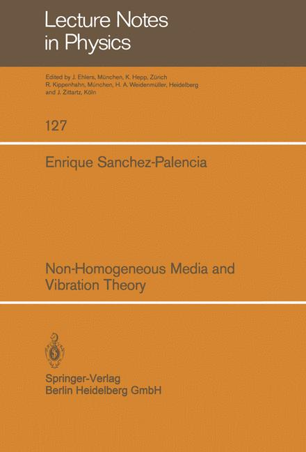 Cover of 'Non-Homogeneous Media and Vibration Theory'
