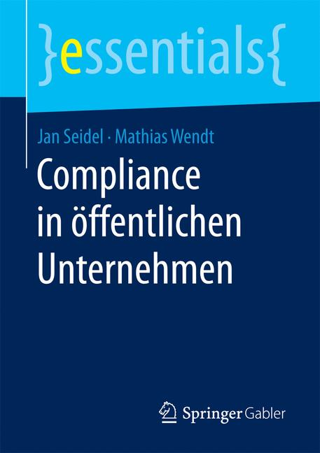 Cover of 'Compliance in öffentlichen Unternehmen'