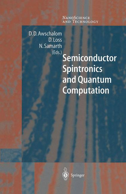 Cover of 'Semiconductor Spintronics and Quantum Computation'