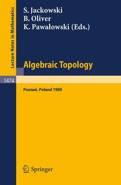 Cover of 'Algebraic Topology Poznań 1989'