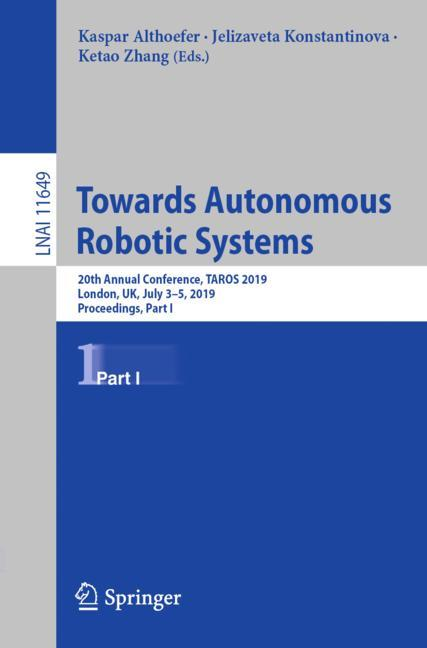 Cover of 'Towards Autonomous Robotic Systems'