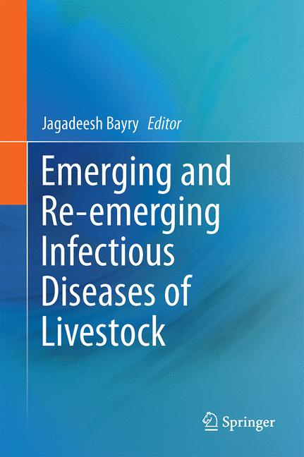 Cover of 'Emerging and Re-emerging Infectious Diseases of Livestock'