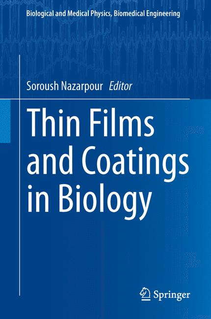 Cover of 'Thin Films and Coatings in Biology'