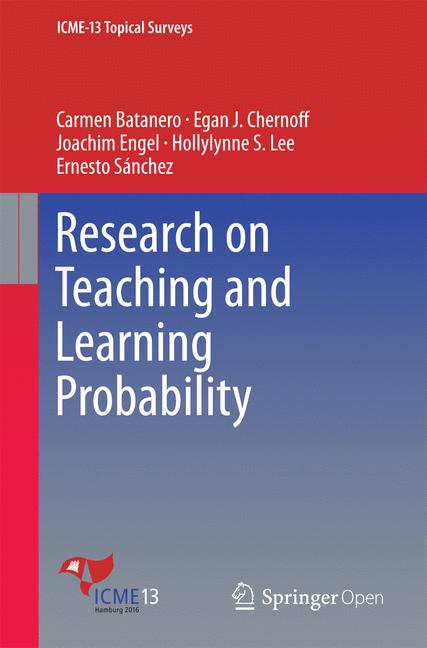 Cover of 'Research on Teaching and Learning Probability'