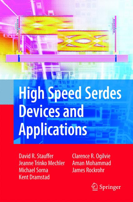 Cover of 'High Speed Serdes Devices and Applications'