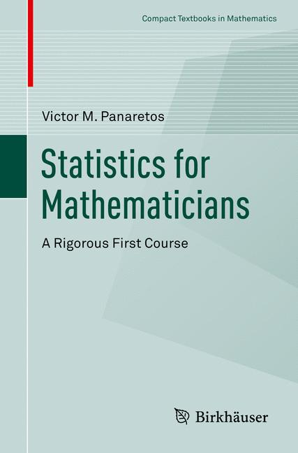 Cover of 'Statistics for Mathematicians'