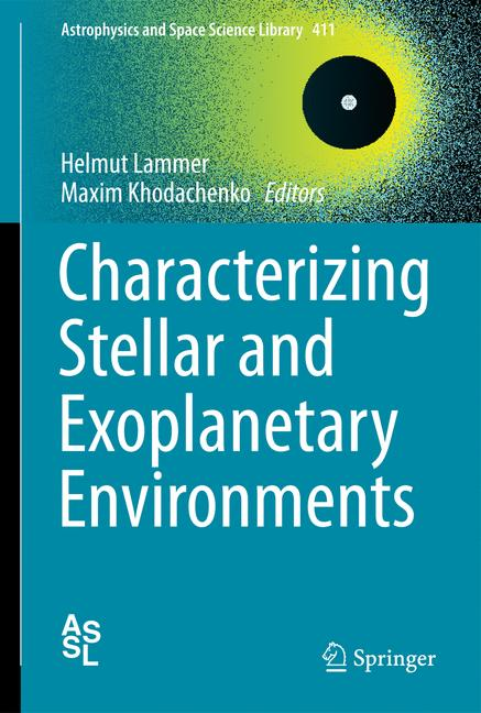 Cover of 'Characterizing Stellar and Exoplanetary Environments'