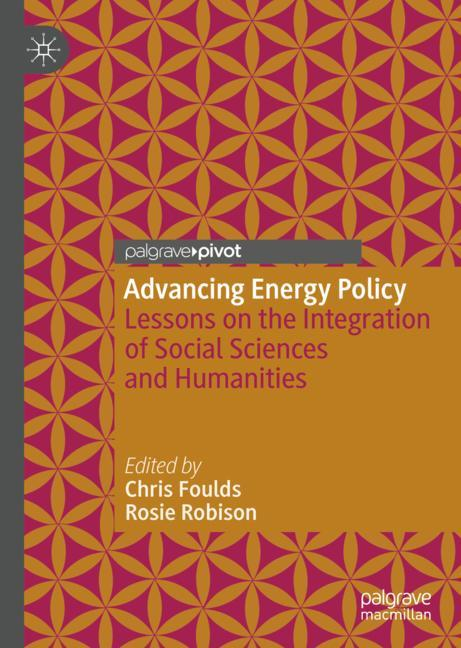 Cover of 'Advancing Energy Policy'