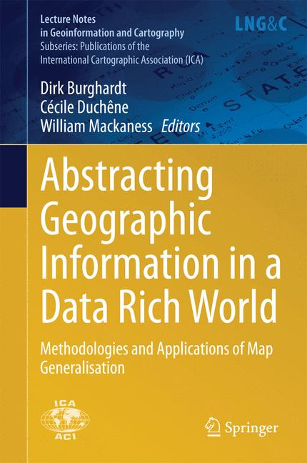 Cover of 'Abstracting Geographic Information in a Data Rich World'