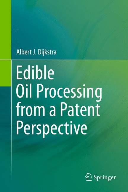 Cover of 'Edible Oil Processing from a Patent Perspective'