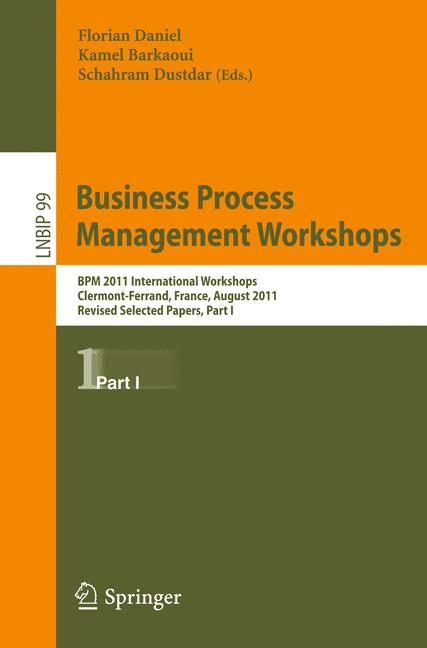 Cover of 'Business Process Management Workshops'